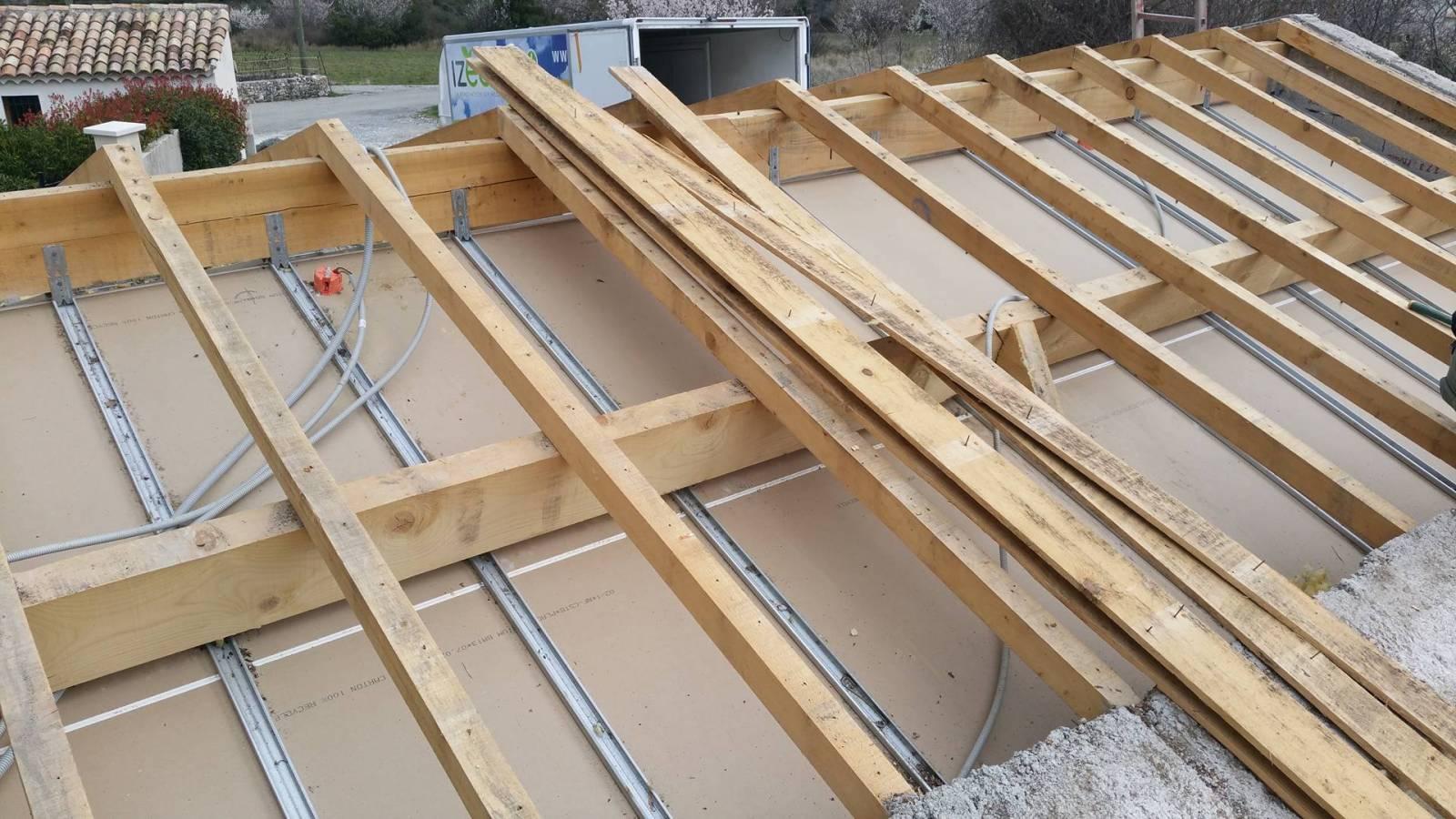 Prix pour refaire toiture et isolation des rampants à ROCHEMAURE 07400 - Spécialiste de l ...